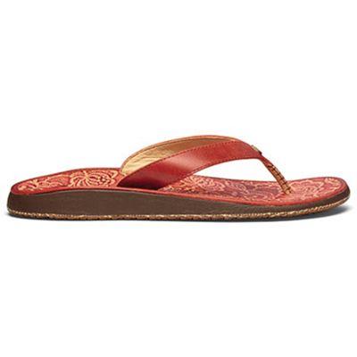 OluKai Women's Paniolo Hibiscus Sandal