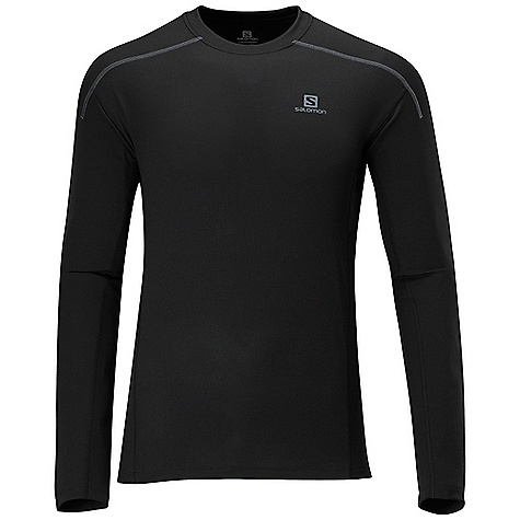 photo: Salomon Apogee LS Tee long sleeve performance top
