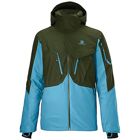 photo: Salomon Cadabra 2L Jacket snowsport jacket