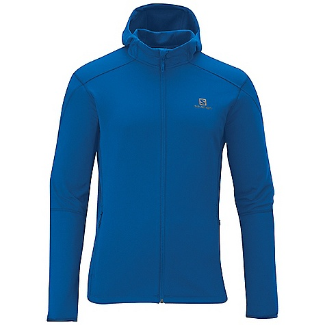 photo: Salomon Discovery Hooded Midlayer fleece jacket