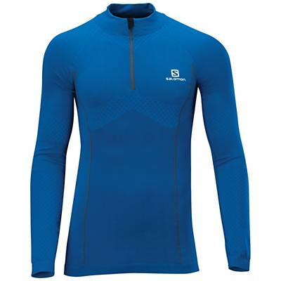 Salomon Men's Exo Motion Long Sleeve Zip Tee