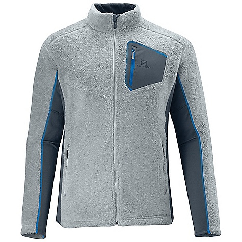 photo: Salomon High Pile FZ Midlayer fleece jacket