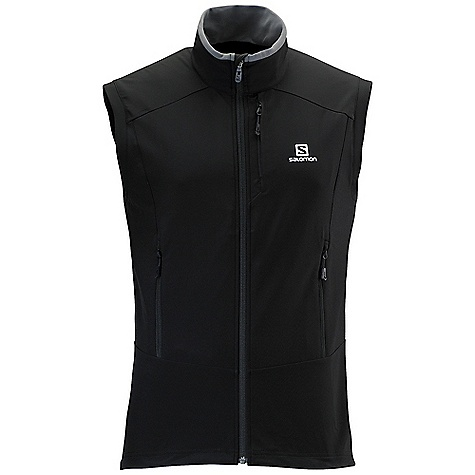 photo: Salomon Momentum Softshell Vest soft shell vest