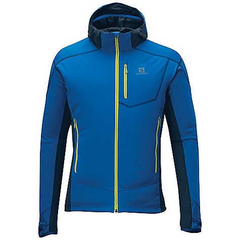 photo: Salomon Mont Baron WS Hoodie soft shell jacket