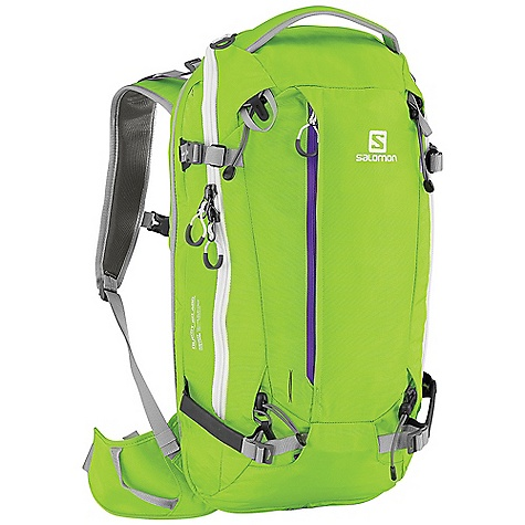 photo: Salomon Quest 20 ABS avalanche airbag pack