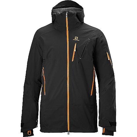 photo: Salomon Quest Motion Fit Jacket waterproof jacket