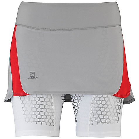 photo: Salomon EXO S-Lab Twinskin Skort running skirt