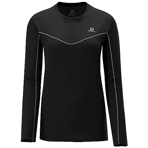 photo: Salomon Women's Stroll LS Tee long sleeve performance top