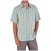 Royal Robbins Men's Cool Mesh Plaid Short Sleeve Shirt