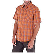 Royal Robbins Men's Drifter Plaid Short Sleeve Shirt