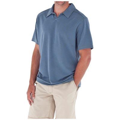 Royal Robbins Men's Desert Knit Stripe SS Cricket Shirt