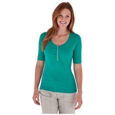Royal Robbins Women's Endeavor Henley Elbow Sleeve Top