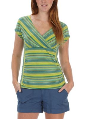 Royal Robbins Women's Essential Tencel Stripe SS Top