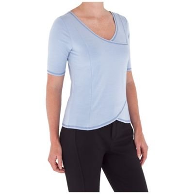 Royal Robbins Women's Essential Tencel Elbow Sleeve Top