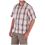 Royal Robbins Men's Plateau Plaid Short Sleeve Shirt