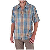 Royal Robbins Men's Siesta Plaid Short Sleeve Shirt
