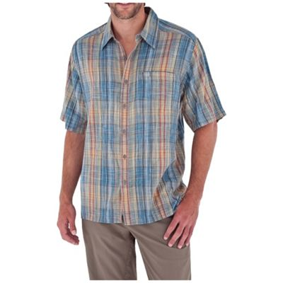 Royal Robbins Men's Siesta Plaid SS Shirt
