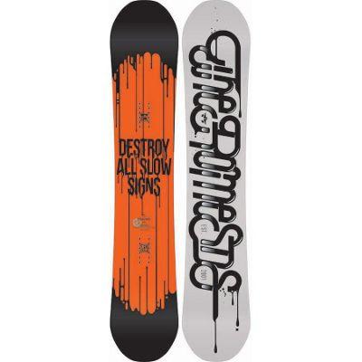 Rome Brigade Snowboard 155 - Men's