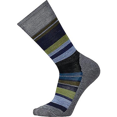 Smartwool Men's Saturnsphere Sock Deep Navy Heather / Medium Grey Heather