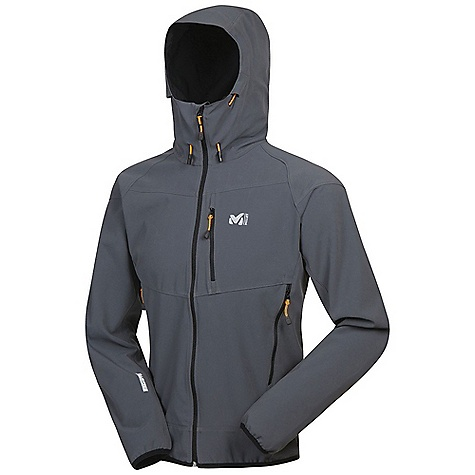 photo: Millet Trilogy WDS Hoodie soft shell jacket