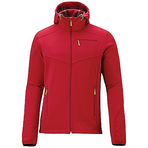 photo: Salomon Junin Jacket soft shell jacket