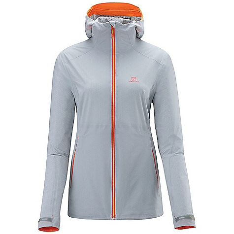 photo: Salomon Minim Shell waterproof jacket