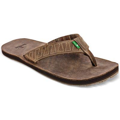 Sanuk Men's Burro Down Sandal