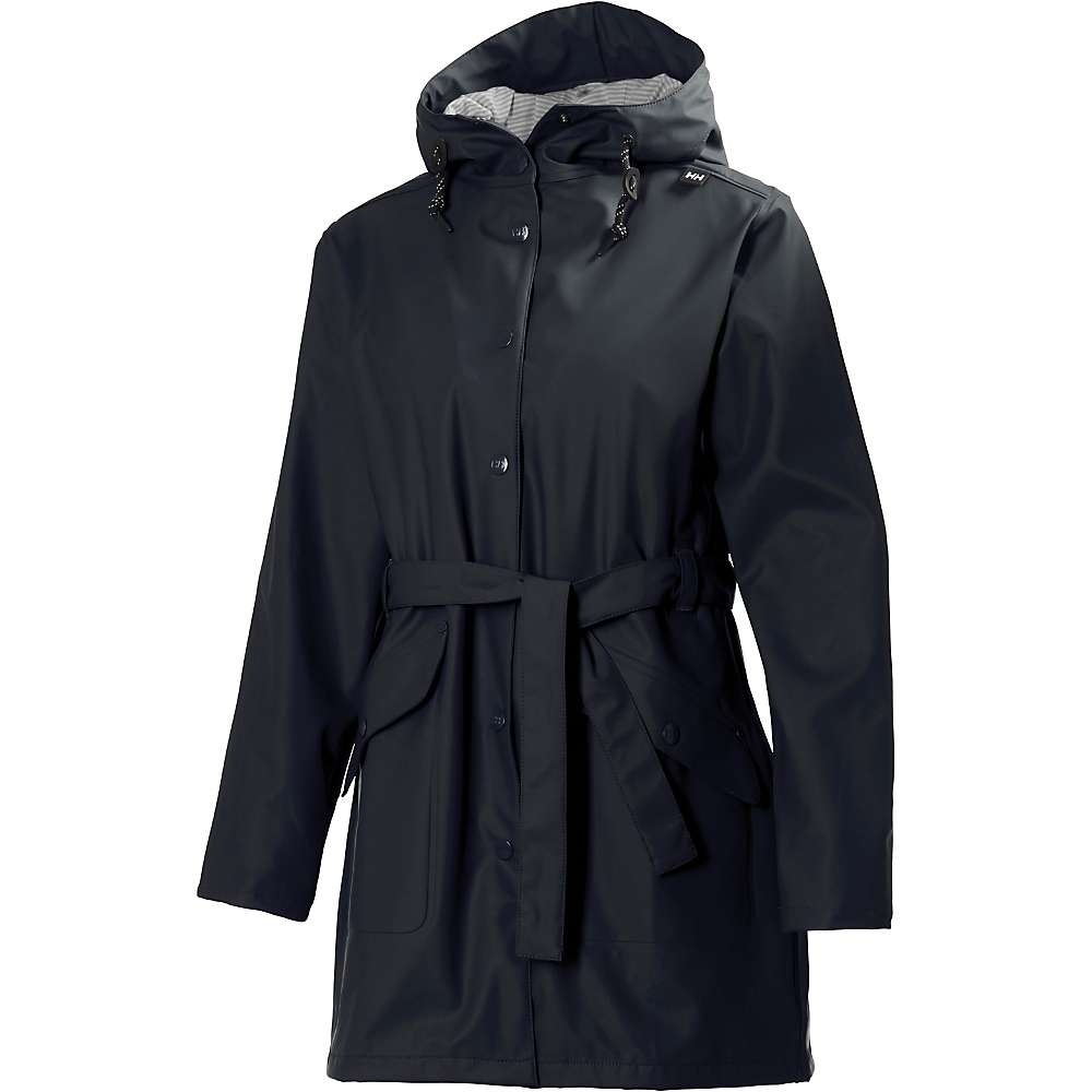 Helly Hansen Women's Kirkwall Rain Coat - Large - Black
