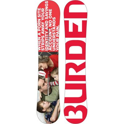 Burton Burden Snowboard 154 - Men's