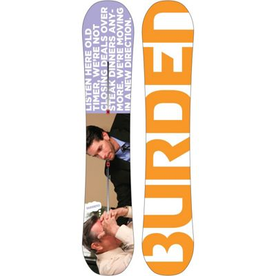 Burton Burden Snowboard 157 - Men's