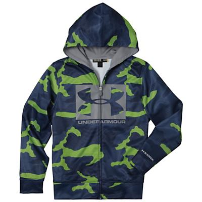 Under Armour Boys' Armour Fleece Storm Printed Full Zip Hoody
