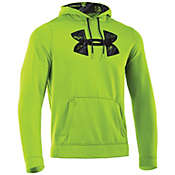 Under Armour Men's Armour Fleece Storm Printed Big Logo Hoody
