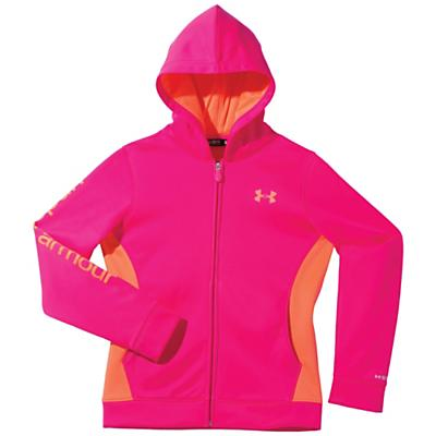 Under Armour Girls' Armour Fleece Storm Full Zip Hoody