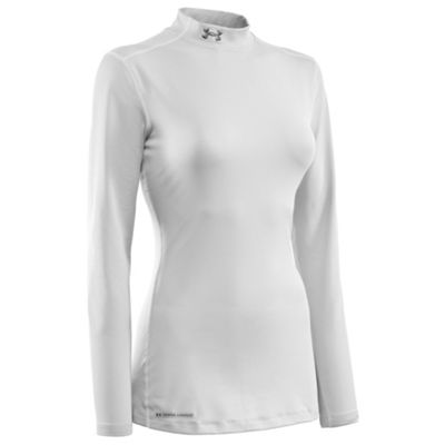 Under Armour Women's Coldgear Fitted Mock Top