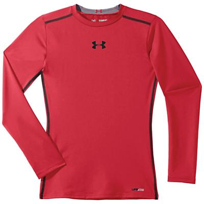 Under Armour Boys' Heatgear Sonic Fitted Long Sleeve Top