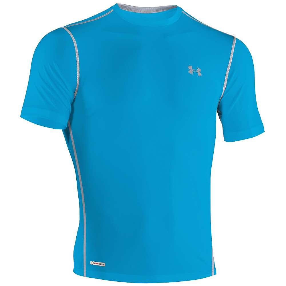 Under armour men 39 s heatgear sonic fitted ss t shirt for Under armour men s heatgear sonic fitted t shirt
