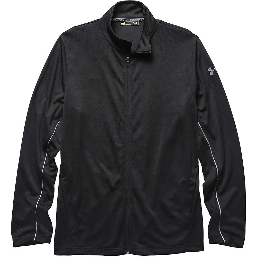Under Armour Men's Reflex Warm Up Jacket - Medium - Black / Black / Graphite
