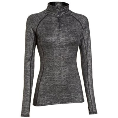 Under Armour Women's UA Coldgear Cozy 1/4 Zip Shimmer Top