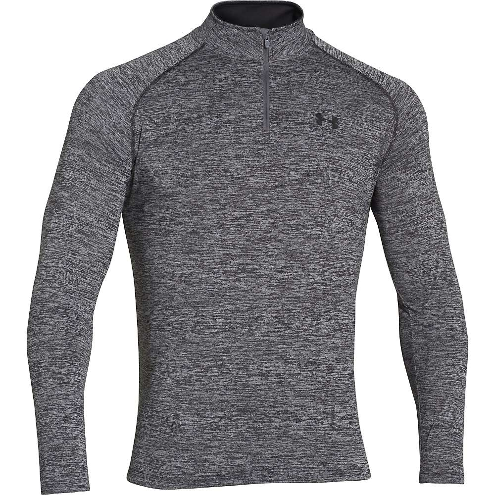 Under Armour Men's UA Tech 1/4 Zip Top - Large - Black / Black / Graphite