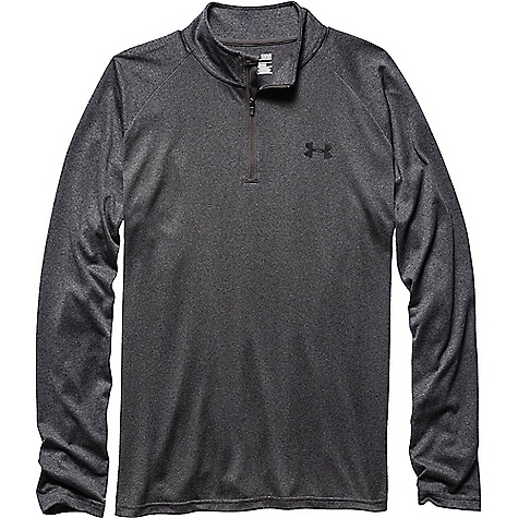 Under Armour Men's UA Tech 1/4 Zip Top Carbon Heather / Black