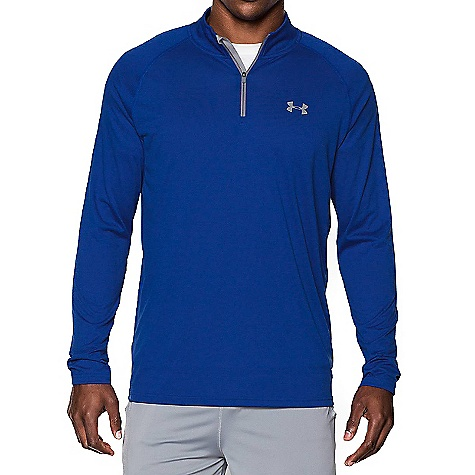 Under Armour Men's UA Tech 1/4 Zip Top Royal / Steel / Steel 402