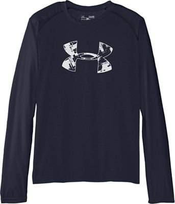 Under Armour Boys' UA Tech Long Sleeve Tee