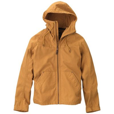 Timberland Men's Lightweight Canvas Hooded Jacket