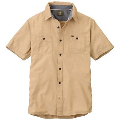 Timberland Men's Earthkeepers Short Sleeve Chambray Shirt