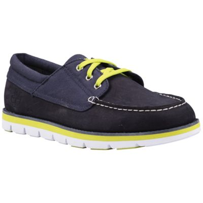 Timberland Men's Earthkeepers Harborside 3-Eye Oxford With Recanvas Fabric Shoe