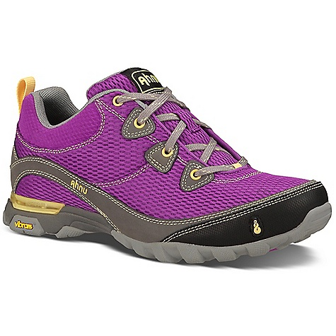 Ahnu Women's Sugarpine Air Mesh Shoe Dahlia