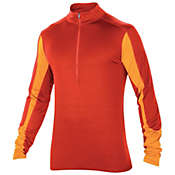 Ibex Men's W2 Long Sleeve Sport Zip Top