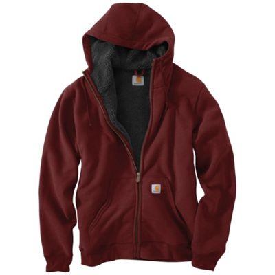 Carhartt Men's Brushed Fleece Sherpa Lined Sweatshirt