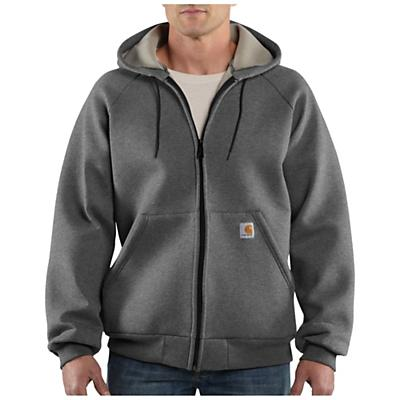 Carhartt Men's Car Lux Zip Front Hooded Sweatshirt