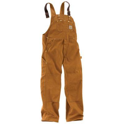 Carhartt Men's Duck Overall Bib